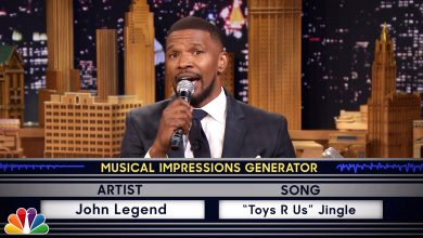 Photo of Jamie Foxx Does An Unusual John Legend Impression