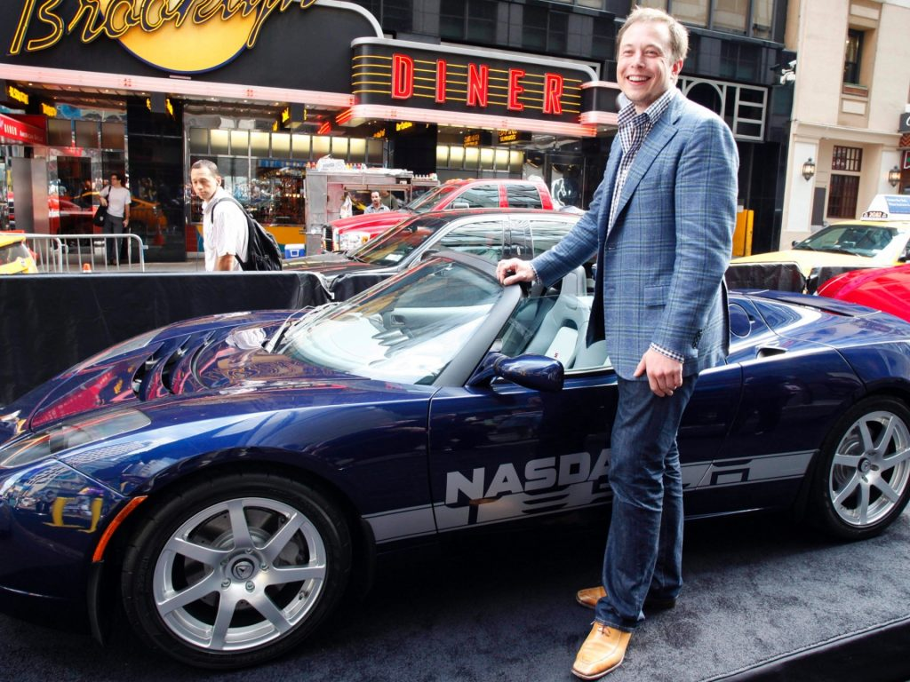 Tesla Motors founder and CEO Elon Musk (Mark Lennihan/AP Photo)