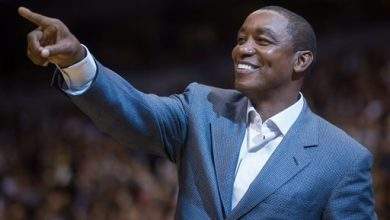 Photo of Isiah Thomas Back in Garden Fold, This Time to Run Liberty