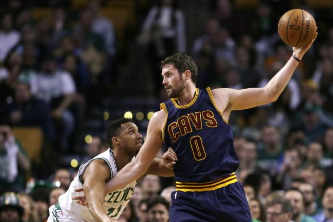 Kevin Love (Charles Krupa/Associated Press)