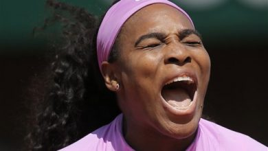 Photo of Williams Tops Stephens; Sharapova Out; Djokovic-Nadal on Tap