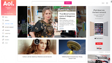 Photo of AOL Redesigns Website to Cater to Mobile Users