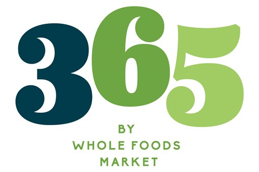 """This image provided by Whole Foods shows the logo for 365 by Whole Foods Market, a new chain of smaller stores with lower prices, named after its """"365"""" house brand. Co-CEO Walter Robb says the private-label products will """"anchor"""" the store, but that it will also have a selection of """"curated"""" products, including national brand name products. (Whole Foods via AP)"""