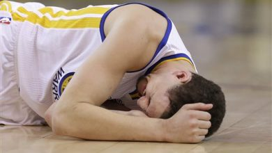 Photo of Warriors Guard Klay Thompson Returns to Practice