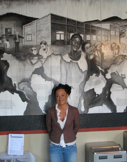 Rachel Dolezal resigned Monday as president of the Spokane, Wash., chapter of the NAACP. (Nicholas K. Geranios, The Associated Press)
