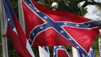 Photo of Confederate Emblems 'Treason,' Says Head of Rights Group