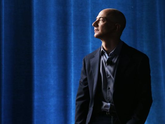 Amazon CEO Jeff Bezos in 2014. (AP Photo/Ted S. Warren)