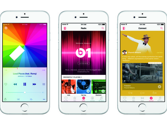 Apple Music is set to debut. (Courtesy of Apple)