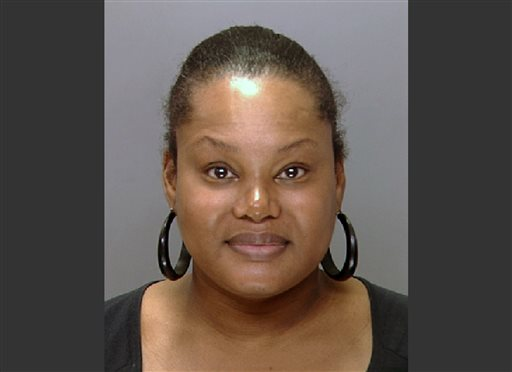 """This undated file photo provided by the Philadelphia Police Department shows Padge Gordon, also known as Padge Victoria Windslowe. The former madam who performed illegal """"body sculpting"""" with low-grade silicone is set to be sentenced in the death of a London dancer. Padge-Victoria Windslowe told jurors during her spring murder trial that fans call her """"the Michelangelo of buttocks injections."""" But prosecutors say she had no medical training and used deadly products on vulnerable women who wanted more curves. (AP Photo/Philadelphia Police Department, File)"""