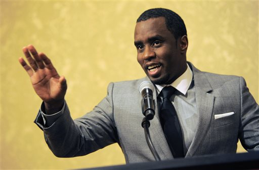 "In this July 26, 2013 file photo, Sean ""Diddy"" Combs of the new network Revolt TV addresses reporters at the Beverly Hilton Hotel in Beverly Hills, Calif. Police say hip-hop music mogul Combs has been arrested on the campus of the University of California, Los Angeles. UCLA police spokeswoman Nancy Greenstein confirmed that Combs was taken into custody by campus officers on Monday, June 22, 2015. Greenstein did not immediately provide further details. (Photo by Chris Pizzello/Invision/AP, File)"