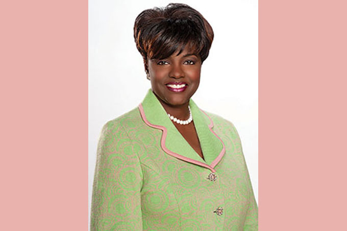 Dorothy Buckhanan Wilson, AKA Inc. International president.