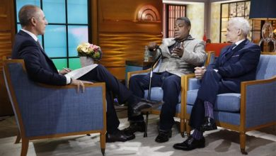 Photo of Healing Tracy Morgan Vows Comeback, Worries Won't Be Funny
