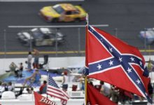 Photo of Republican Candidate Ben Carson Tells NASCAR Fans Confederate Flag OK