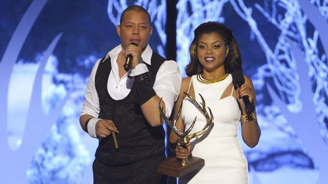 Terrence Howard and Taraji P. Henson (AP Images/Invision)
