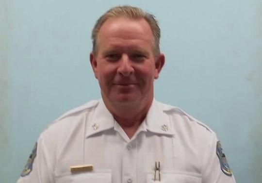 Lt. Col. Alan Eickhoff, interim police chief of Ferguson Police Department.