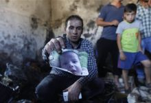 Photo of Suspected Jewish Extremists Burn Palestinian Child to Death