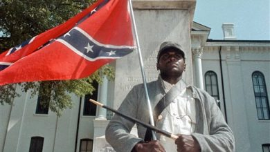 Photo of Black Backer of Confederate Flag Was Anomaly in Mississippi