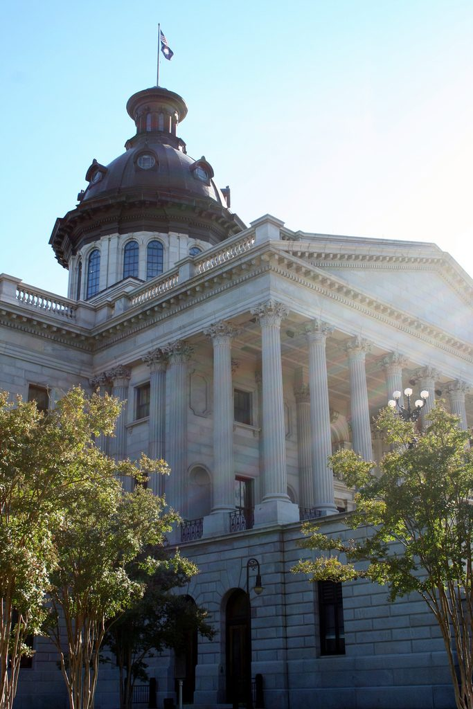 South Carolina capitol in  Columbia. (David Hilgart/Flickr/CC SA-BY 2.0)
