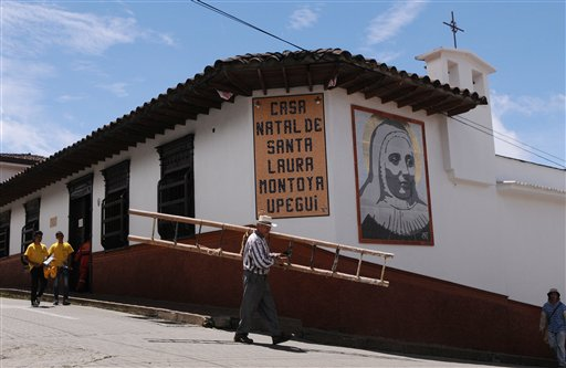 Photo of TV Depiction of Colombia's Only Saint Angers Her Devotees