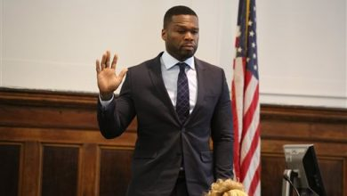 Photo of 50 Cent Testifies About His Finances in Sex-Tape Lawsuit