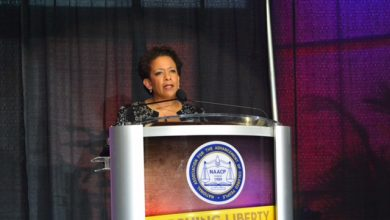 Photo of Loretta Lynch to NAACP: 'Our Work is Not Finished'