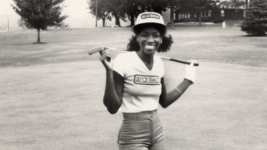 Photo of Black Female Golfer Makes History