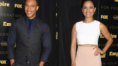 Photo of Report: 'Empire' Stars Trai Byers, Grace Gealey Are Engaged