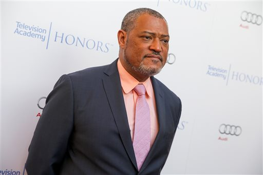 "FILE - In this May 27, 2015 file photo, Laurence Fishburne arrives at the 2015 Television Academy Honors at The Montage Hotelin Beverly Hills, Calif. Fishburne will star as Alex Haley in the  A+E Networks scripted event series, ""Roots."" (Photo by Rich Fury/Invision/AP, File)"