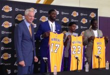 Photo of New Lakers Roy Hibbert, Lou Williams, Brandon Bass Make Their Hellos