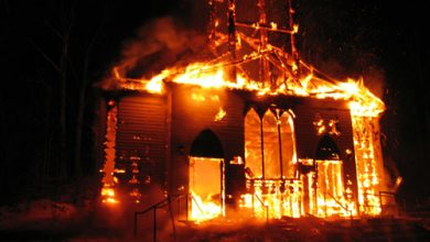 Photo of Black Christians and Muslims Unite Around Burned Churches