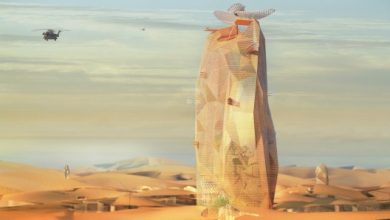 Photo of French Architect Firm Designs a Sustainable Vertical City to Be Installed in the Sahara Desert