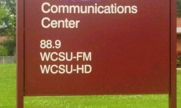 Photo of University Covers Up Cosby Name on Communications Center