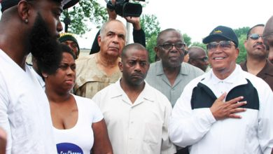Photo of A Visit to 'Ground Zero' in Ferguson to Honor Michael Brown Jr.