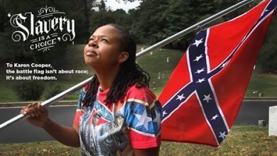 Photo of Why This Black Defender of the Confederate Flag Says Slavery was 'a Choice'