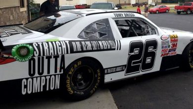 Photo of Behold The Straight Outta Compton NASCAR Race Car