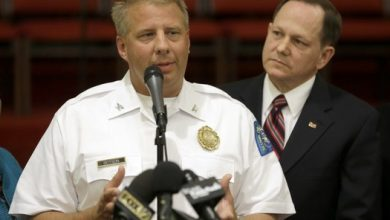 Photo of Police Chief Says Autopsy Shows Black Missouri 18-Year-Old was Shot in the Back