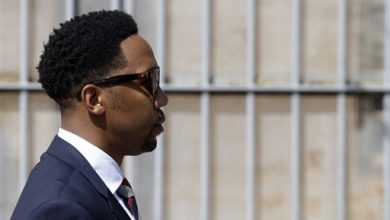 Photo of Nelson Mandela's Grandson Appears in Court on Rape Charges