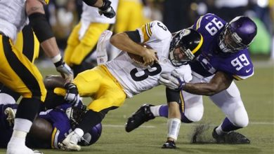 Photo of Vikings Top Steelers 14-3 in Hall of Fame Game