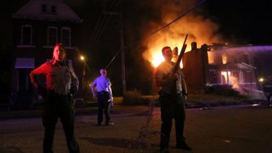 Photo of Protests in St. Louis After Police Shooting of Suspect, 18