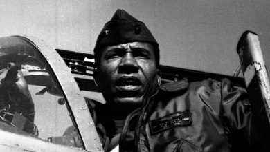 Photo of Frank Petersen Jr.: 'Quiet Giant' Repeatedly Shattered Military Color Barriers