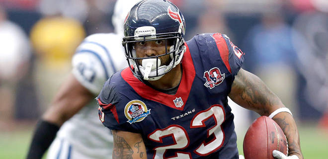 Houston Texans running back Arian Foster (AP Photo)