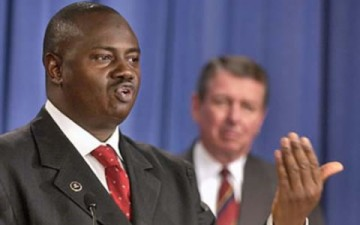 Chairman, Economic and Financial Crimes Commission Ibrahim Lamorde (AP Photo)