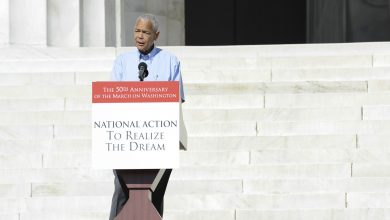 Photo of Julian Bond Praised for Unselfish Devotion to Human Rights