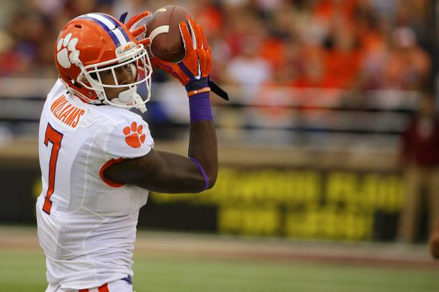 Mike Williams could be the next Clemson wide receiver to break out as an early-round draft prospect. (Stephan Savoia/Associated Press )