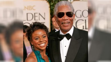 Photo of Morgan Freeman Mourns Granddaughter Found Stabbed to Death. Boyfriend Charged.