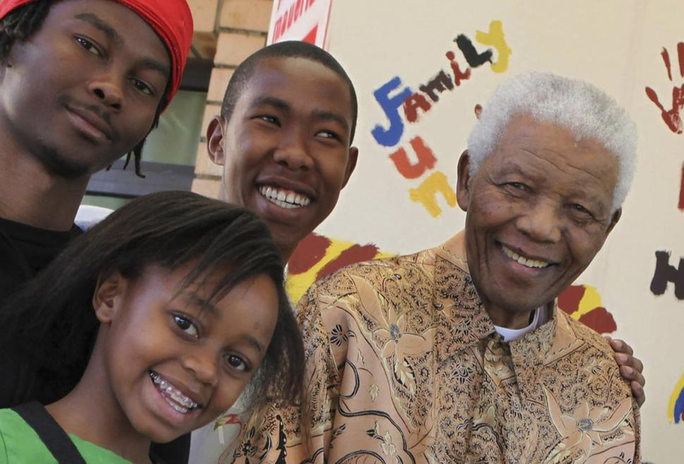 Mbuso Mandela (c.) is one of the late Nelson Mandela's 17 grandchildren. (Debbie Yazbek/AP)