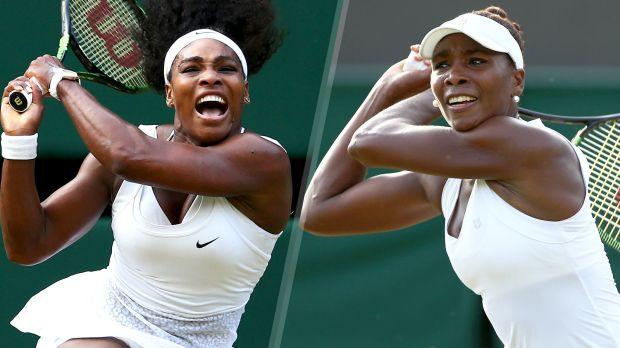 Serena (left) and Venus Williams (AP Photo)