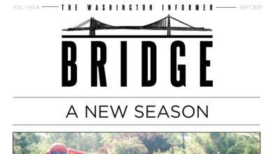 Photo of Washington Informer Bridge, September 2015