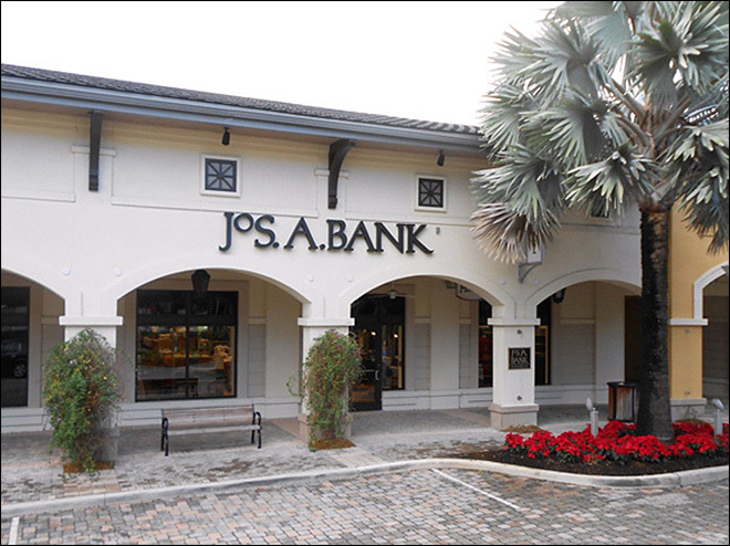 This undated file photo provided by JoS. A. Bank, shows a JoS. A. Bank store at the Shops at Midtown Miami in Miami, Fla. (AP Photo/JoS. A. Bank, File)