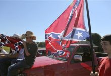 Photo of Protests Continue Over Confederate Flag Ban at High School